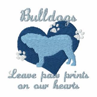 Bulldogs Leave Paw Prints Blue
