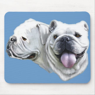 Bulldogs Mouse Pad