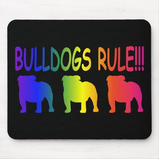 Bulldogs Rule Mouse Pad