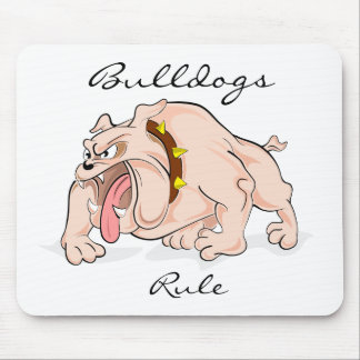 Bulldogs Rule  Mousepad