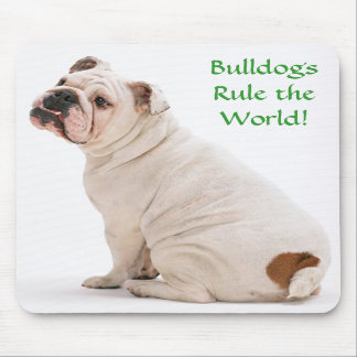 Bulldogs Rule the World Mousepad