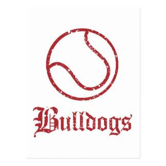 Bulldogs Tennis Postcard