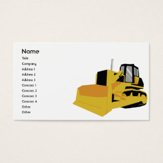 Bulldozer - Business Business Card