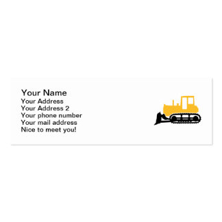 Bulldozer Business Cards