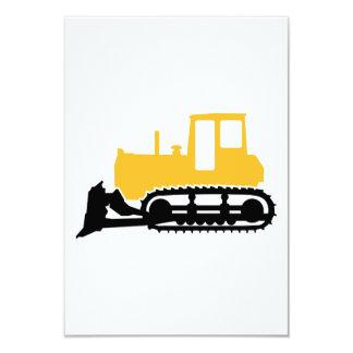 Bulldozer Custom Invites