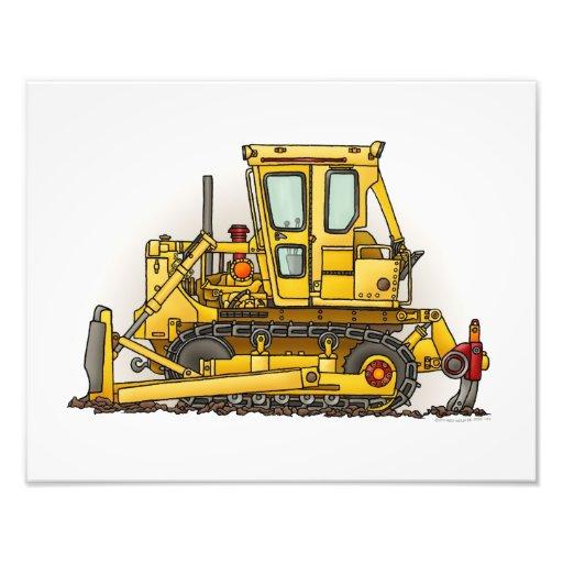 Bulldozer Dozer Photo Art