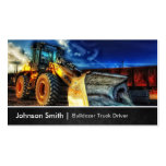 Bulldozer Excavator - Construction Truck Driver