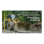 Bulldozer Heavy Road Construction Earth Moving Double-Sided Standard Business Cards (Pack Of 100)