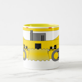 Bulldozer Two-Tone Coffee Mug
