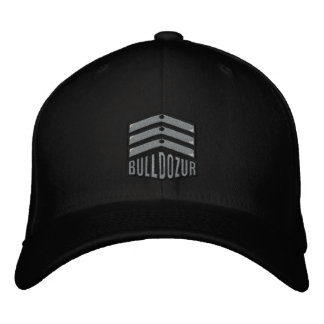 """Bulldozur """"Coat of Arms"""" Logo Fitted Hat"""