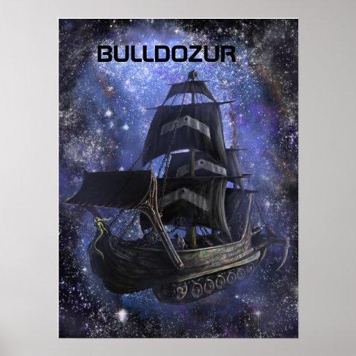 Bulldozur Vessel Poster