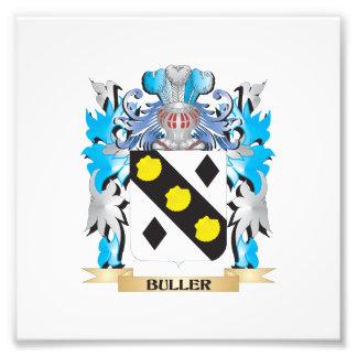 Buller Coat of Arms Photo Art
