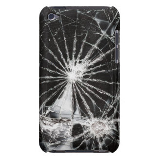 Bullet hole - shattered glass iPod touch case
