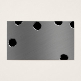 Bullet Holes Business Card