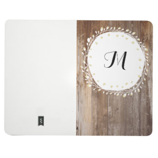 Bullet Journal with Personalized Monogram