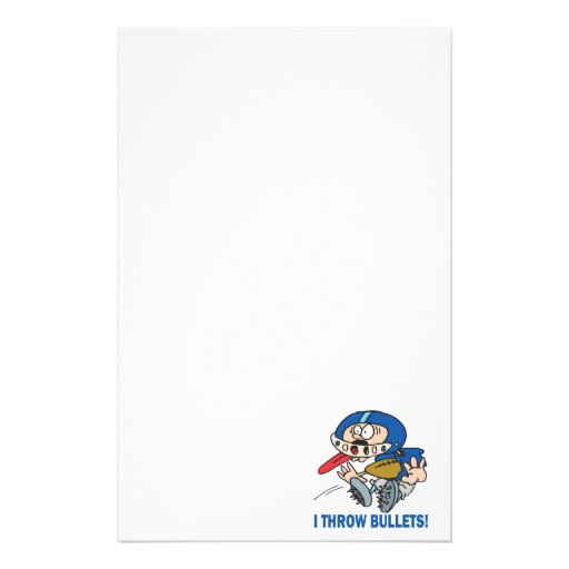 Bullet Pass Stationery Paper