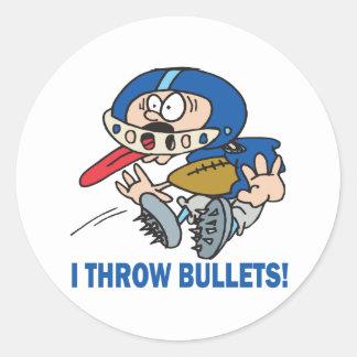 Bullet Pass Sticker