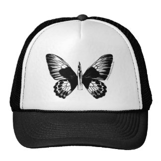 Bullet with Butterfly Wings Cap