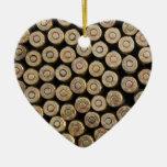 Bullets, ammunition christmas tree ornaments