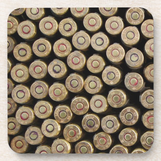 Bullets, ammunition coasters