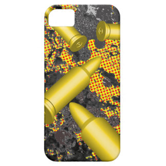 Bullets falling on texture iPhone 5/5S cover