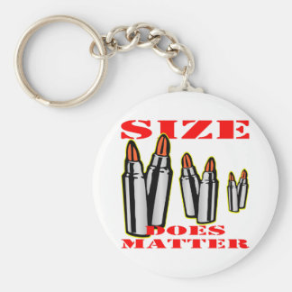 Bullets Size Does Matter Keychains