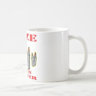 Bullets; Size Does Matter Coffee Mug