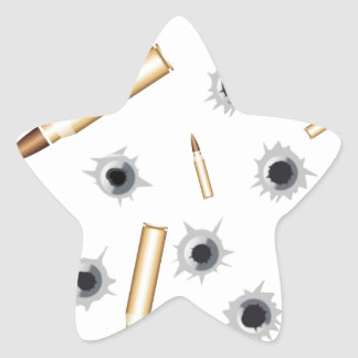 BULLETSNBULLETHOLES.png Star Sticker
