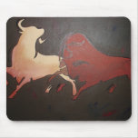 Bullfight 2 mouse pad