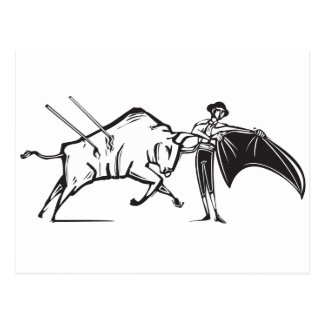 Bullfight Postcard