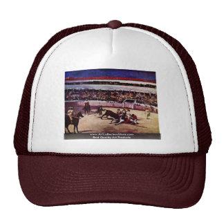 Bullfighting By Manet Edouard Trucker Hat