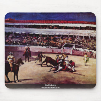 Bullfighting By Manet Edouard Mouse Pad