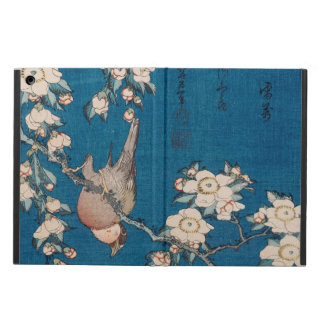 Bullfinch on a Weeping Cherry Branch by Hokusai Cover For iPad Air