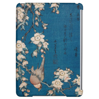 Bullfinch on a Weeping Cherry Branch by Hokusai iPad Air Case