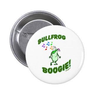 Bullfrog Boogie Pinback Buttons