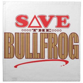 Bullfrog Save Napkin