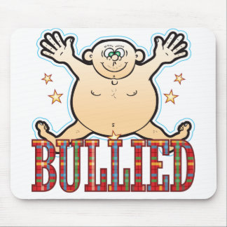 Bullied Fat Man Mouse Pad