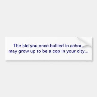 Bullied Kid Bumper Sticker