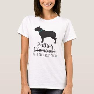 Bullies are a girl's best friend women's T-shirt