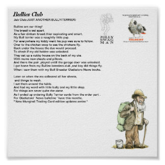 bullies club poster