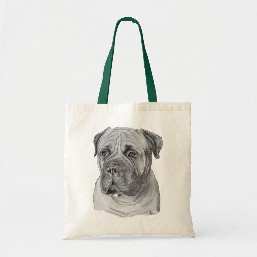 Bullmastiff Canvas Bags