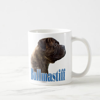 Bullmastiff (brindle) Name Coffee Mug
