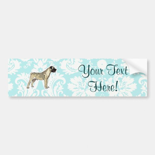 Bullmastiff; Cute Bumper Sticker