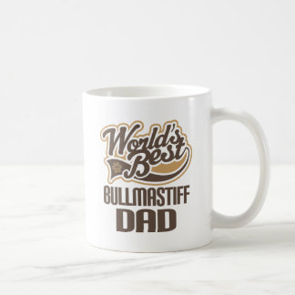 Bullmastiff Dad (Worlds Best) Coffee Mug
