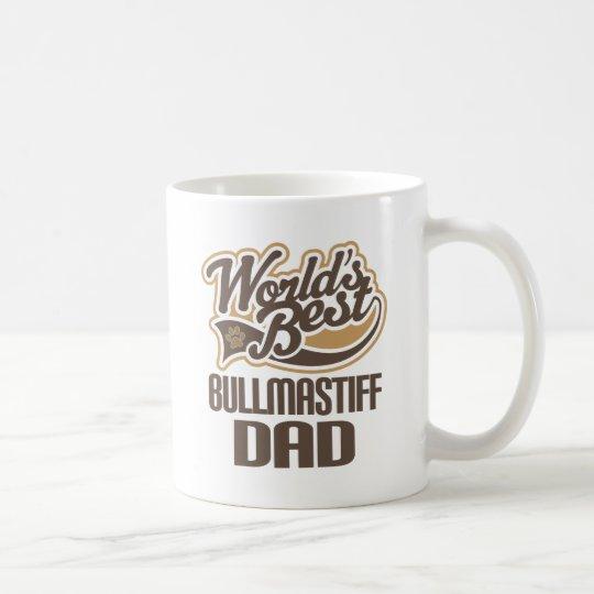 Bullmastiff Dad (Worlds Best) Coffee Mug