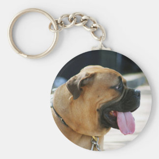 Bullmastiff Dog Key Ring