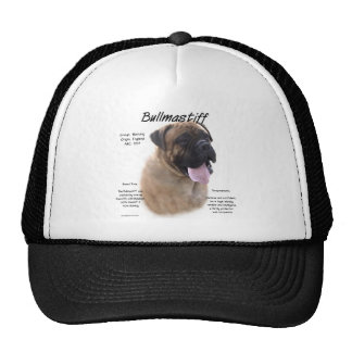 Bullmastiff (fawn) History Design Cap