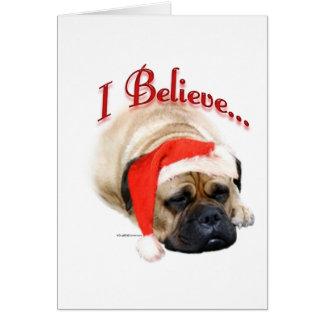 Bullmastiff I Believe Card