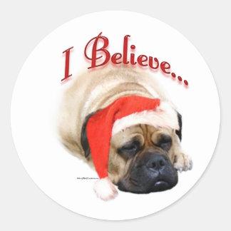 Bullmastiff I Believe - Sticker