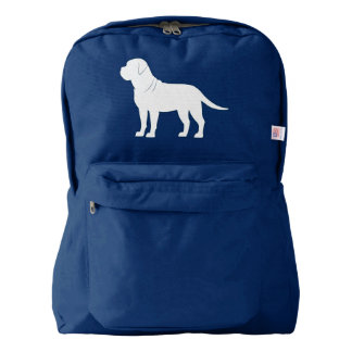 Bullmastiff in Silhouette Backpack